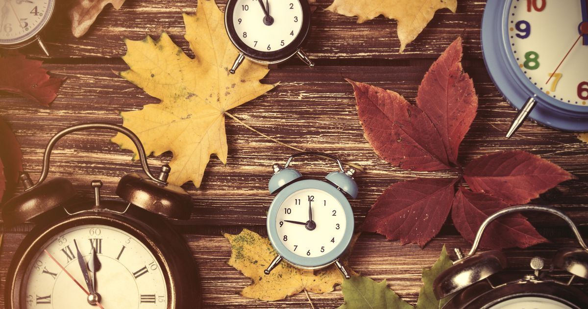 Clocks Go Back This Sunday 28th October at 2am