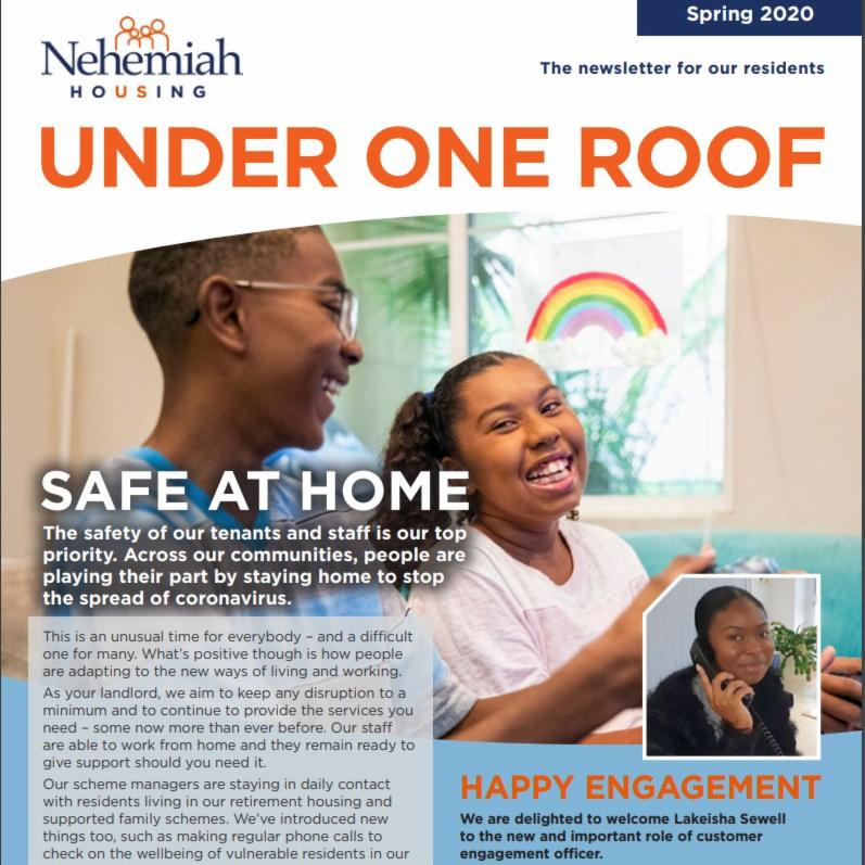 Under One Roof Newsletter Spring 2020